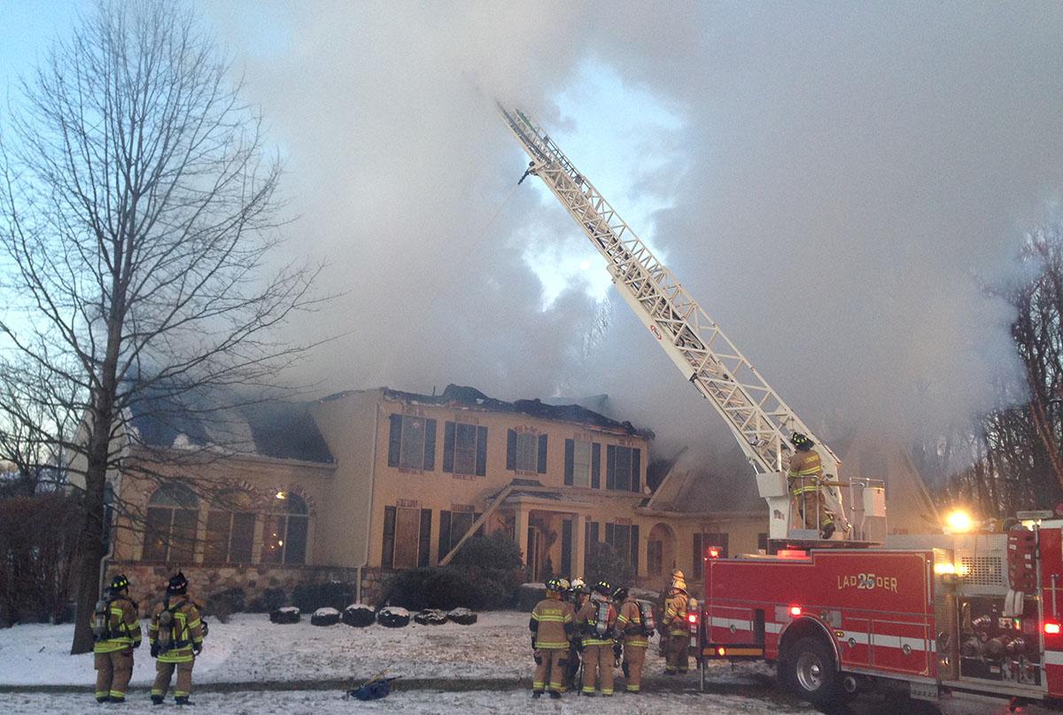 Kennet Square blaze in Pennsylvania