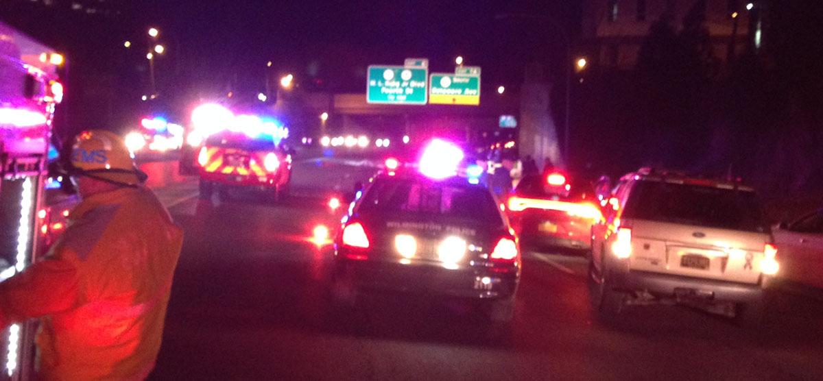Pedestrian killed I-95