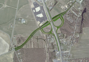Route 1 Thompsonville Road project in Delaware