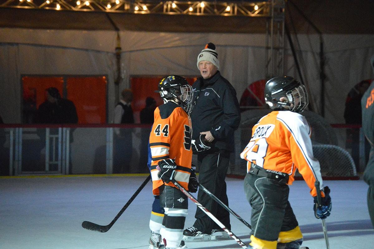 Flyers' alumni in Wilmington