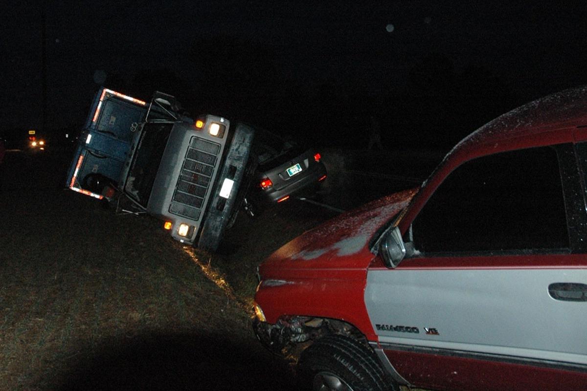 Andrews Lake Road pickup
