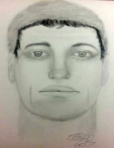 Sketch of suspect in Bellemoor distraction burglary (Photo: NCCPD)