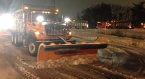 DelDOT plowing New Castle County