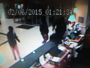 Embassy Suites Surveillance Newark Delaware robbery