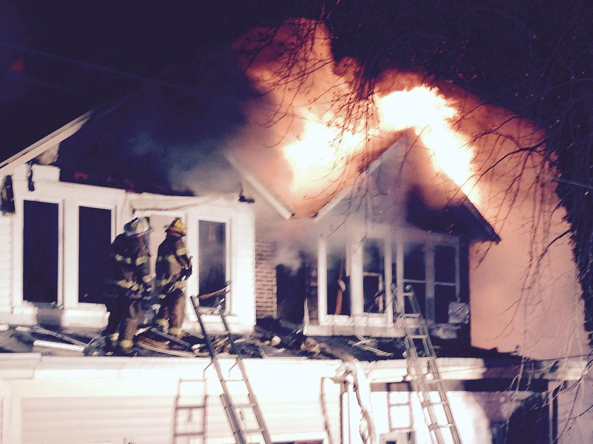Fire in Pennrose community