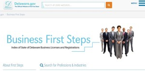 First Steps website