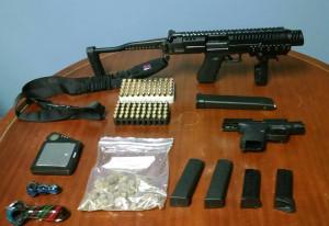 Guns, drugs seized in Elsmere