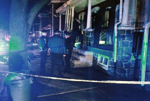Wilmington police investigate shooting in the 200 block of S. Harrison St. (Photo: DFN)