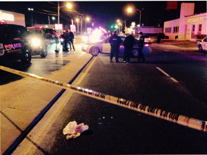 Homicide scene at 27th Street and Northeast Boulevard in Wilmington (Photo: DFN)