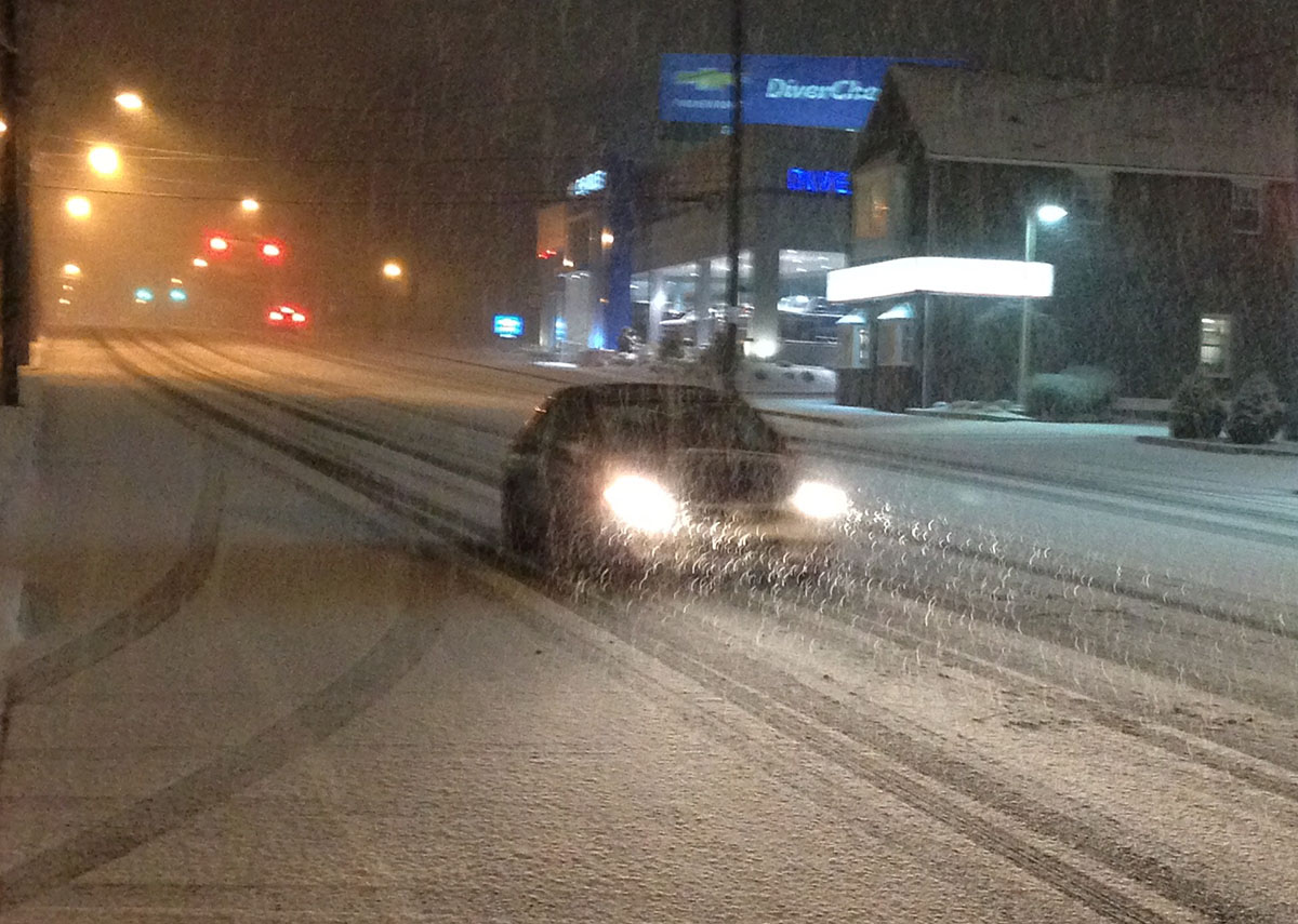 Snow Pennsylvania Avenue Wilmington