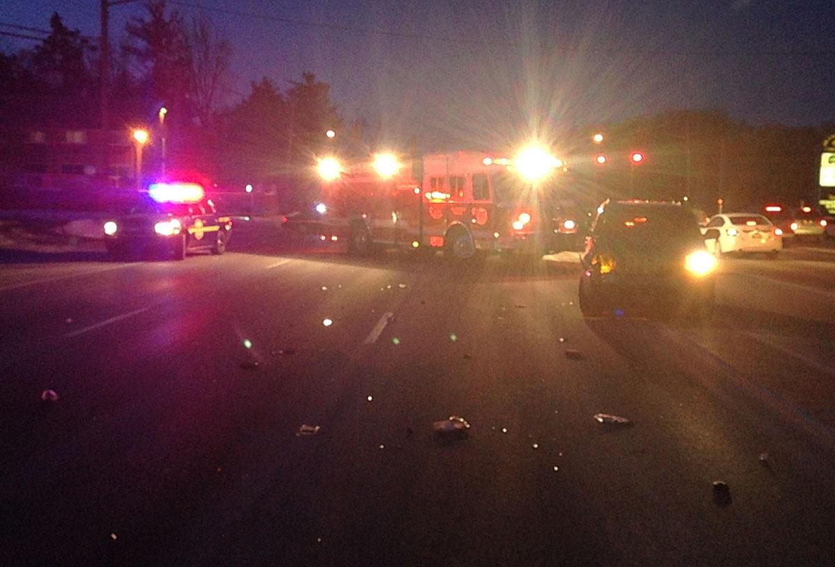 Concord Pike pedestrian accident Delaware