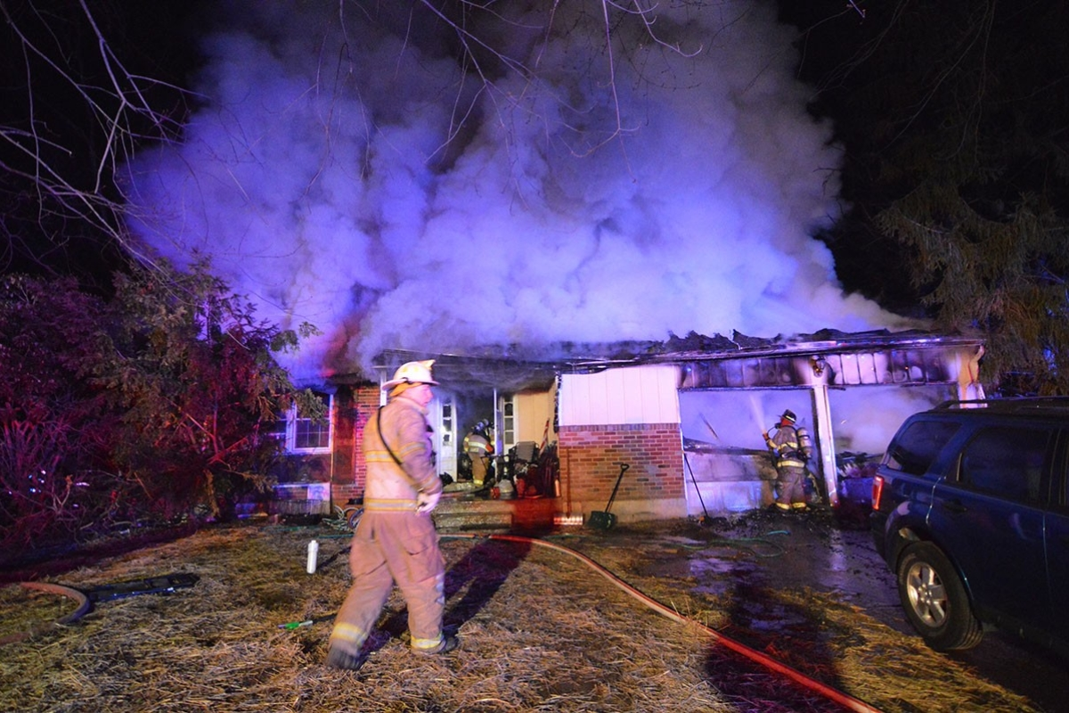 House fire in Mill Creek