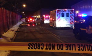 The scene after shooting  at Northtowne Plaza (Photo: DFN)