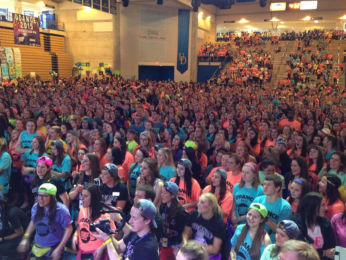 UD Dance crowd
