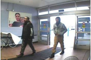 Police said Aaron C. Lomax Jr. (left) and an unidentified male are being sought in connection with attempted robbery and assault at the Walmart store at Wilton Boulevard and U.S. 40.