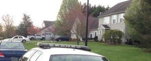 Police investigate Sunday in Misty Vale Farm. (Photo: Delaware Free News)