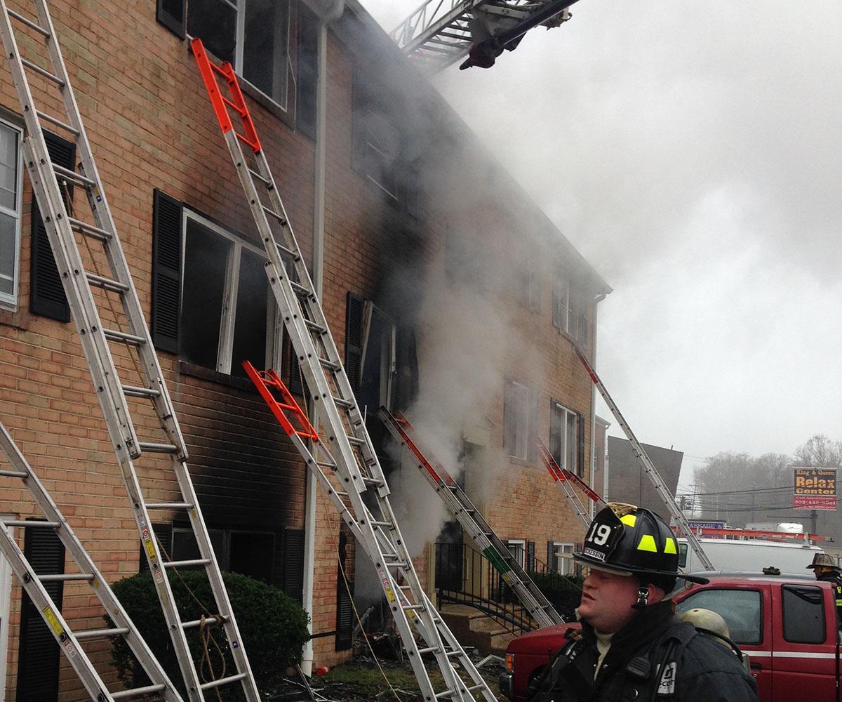 1 Dead, 2 Hurt In Possum Park Apartments Fire