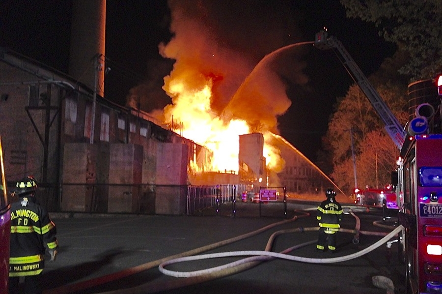 Bancroft Mills fire 2