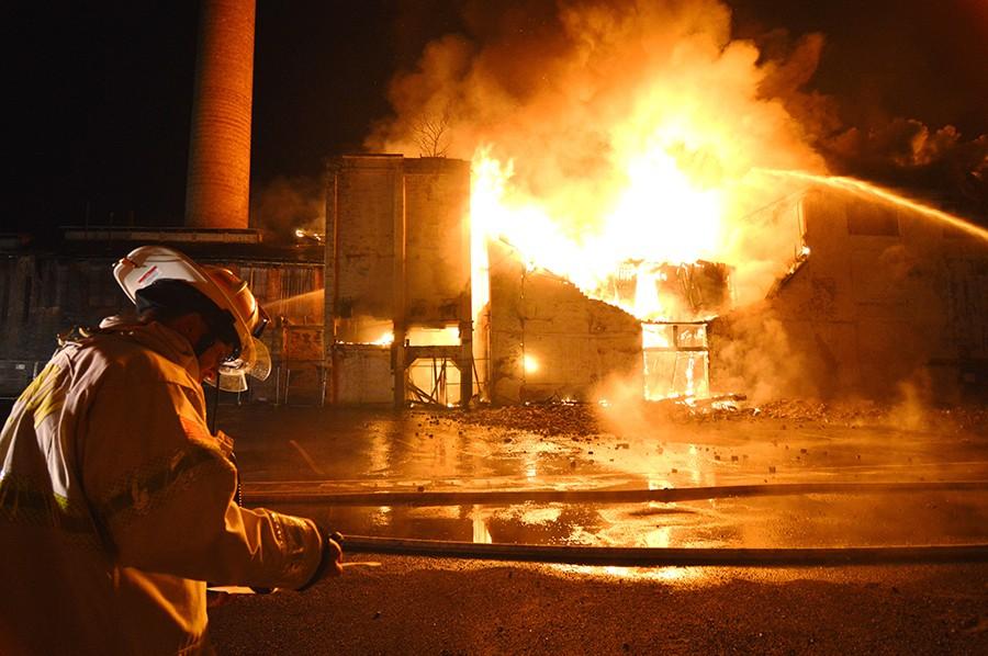Bancroft Mills fire 3