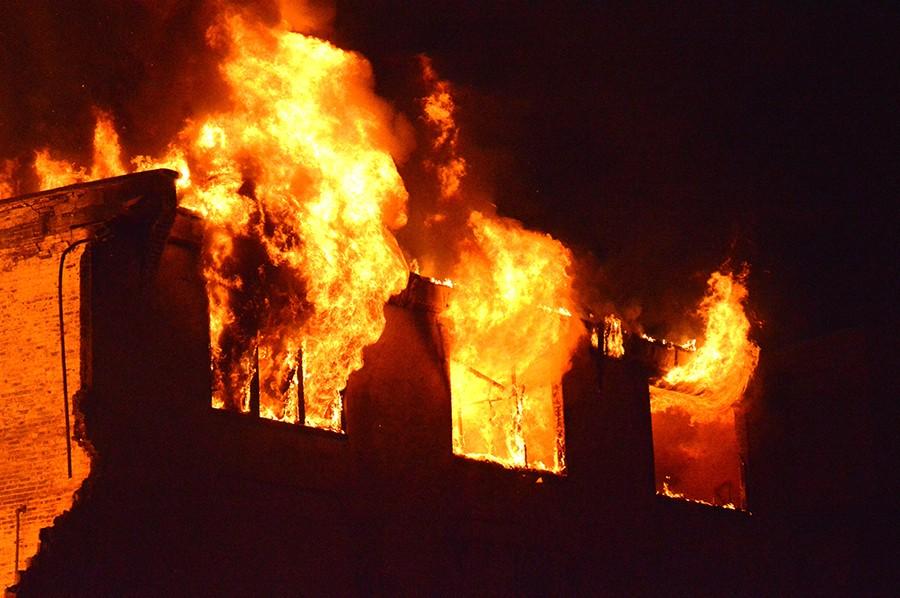 Bancroft Mills fire 6