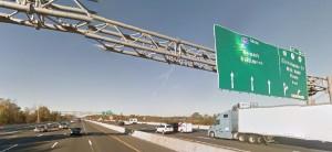 Interstate 95 at Churchmans Marsh (Photo: Google maps)