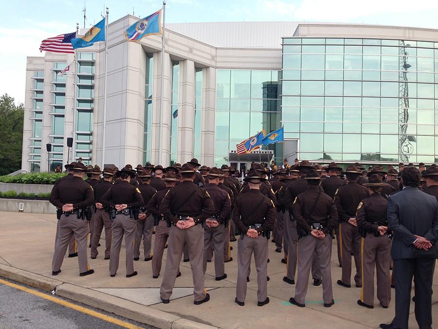 New Castle County police memorial service (Photo: Delaware Free News)