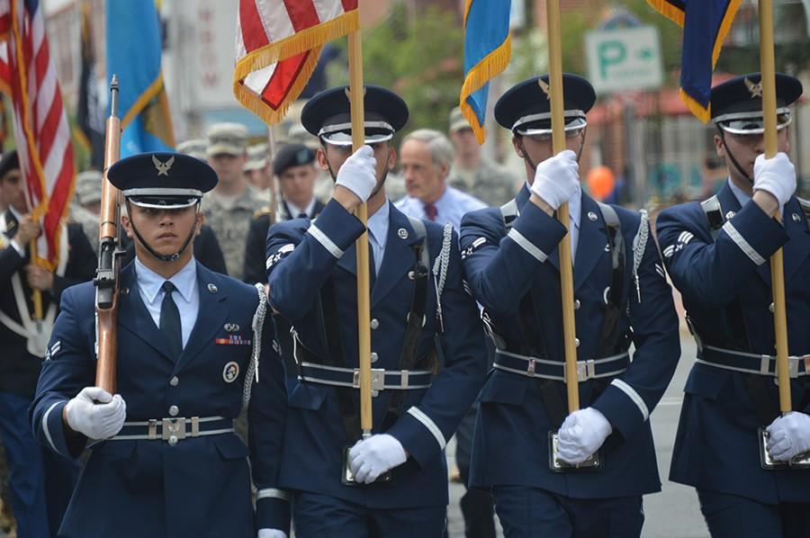 Newark Memorial Day parade (Photo: Delaware Free News)