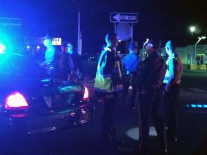 Police investigate pedestrian fatality on U.S. 40 in Bear. (Photo: Delaware Free News)