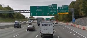 Southbound Interstate 95 near Churchmans Road (Photo: Google maps)
