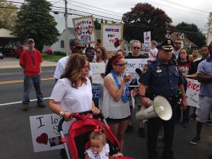 Ty Sawyer march (Photo: Delaware Free News)