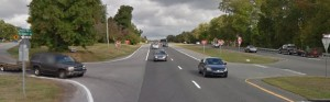 U.S. 13 at the southern end of Messina Hill Road. (Photo: Google maps)