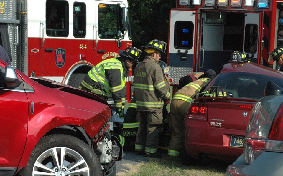 Barratt's Chapel Road crash Lincoln and Dodge
