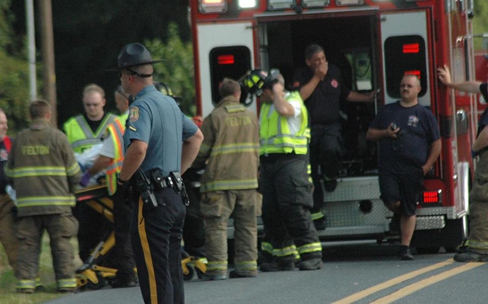 Barratt's Chapel Road crash trooper
