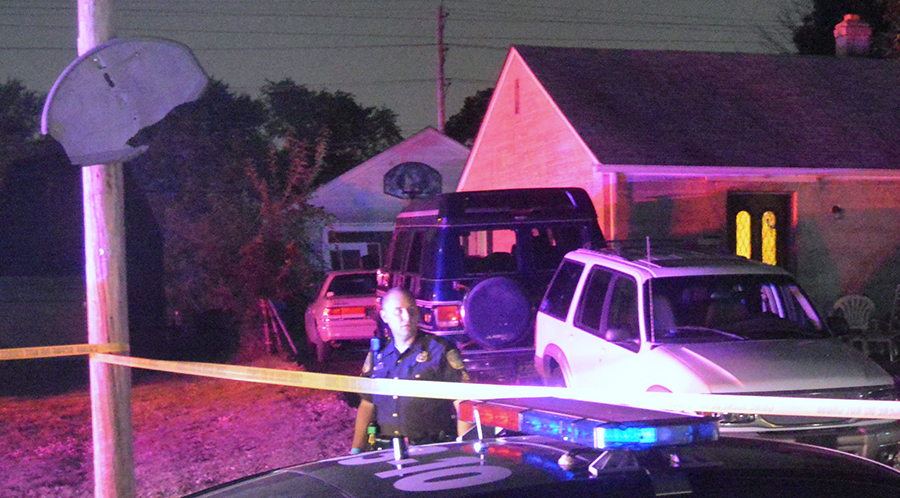 Police said several males forcibly entered detached garage on Martin Drive in Collins Park. (Photo: Delaware Free News)