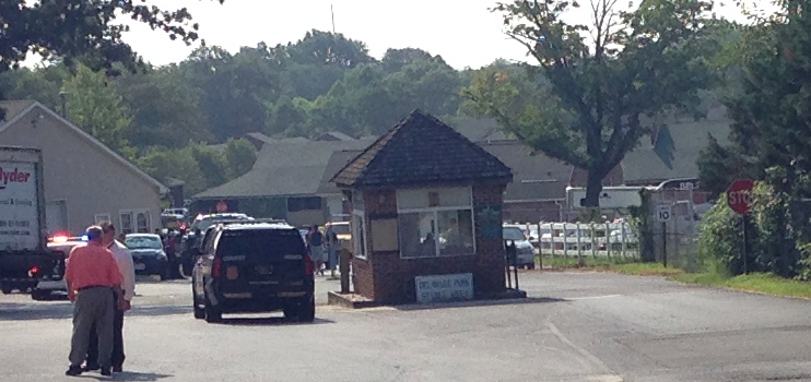 Entrances were closed while police searched for a shooting suspect at Delaware Park. (Photo: Delaware Free News)