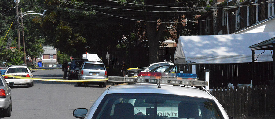 New Castle County police investigate shooting in Edgemoor Gardens. (Photo: Delaware Free News