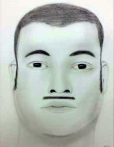Composite sketch of home invasion suspect released by New Castle County police