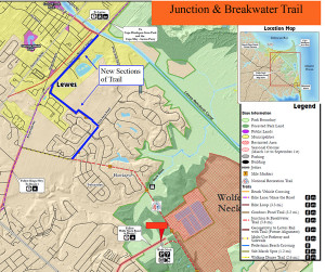 New trail sections (DelDOT)