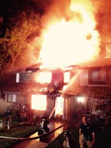 Pepper Ridge fire (Photo: Delaware Free News)