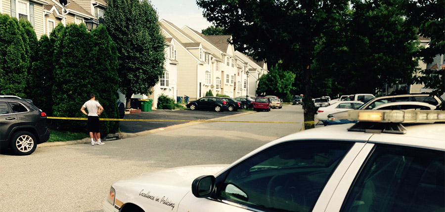 New Castle County police are investigating after two bodies were found inside a townhome in the Pine Woods neighborhood in Bear. (Photo: Delaware Free News)