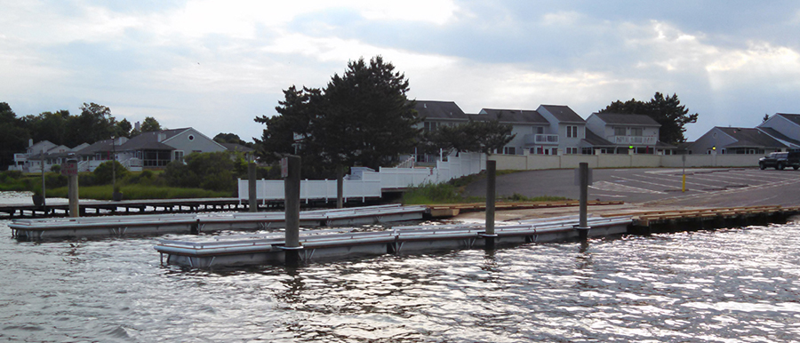 Rosedale Beach boat ramp east of Millsboro provides access to the Indian River. (Photo: Delaware Department of Natural Resources and Environmental Control)