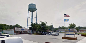 Selbyville water tower (Photo: Google maps)