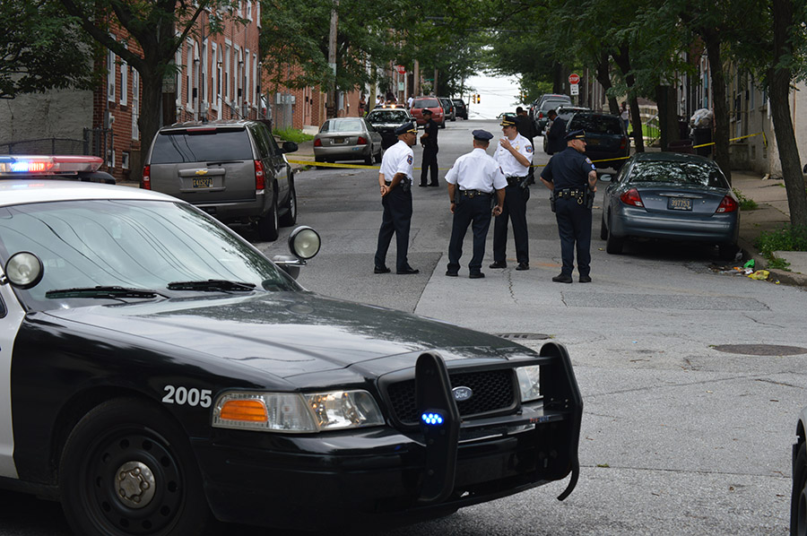 Shooting scene in Wilmington (Photo: Delaware Free News)