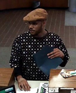 WSFS robbery suspect