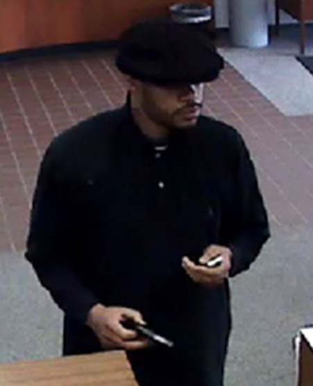 Wilmington bank robbery suspect