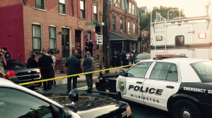Scene of shooting near Fourth and Washington streets intersection in Wilmington (Photo: Delaware Free News)