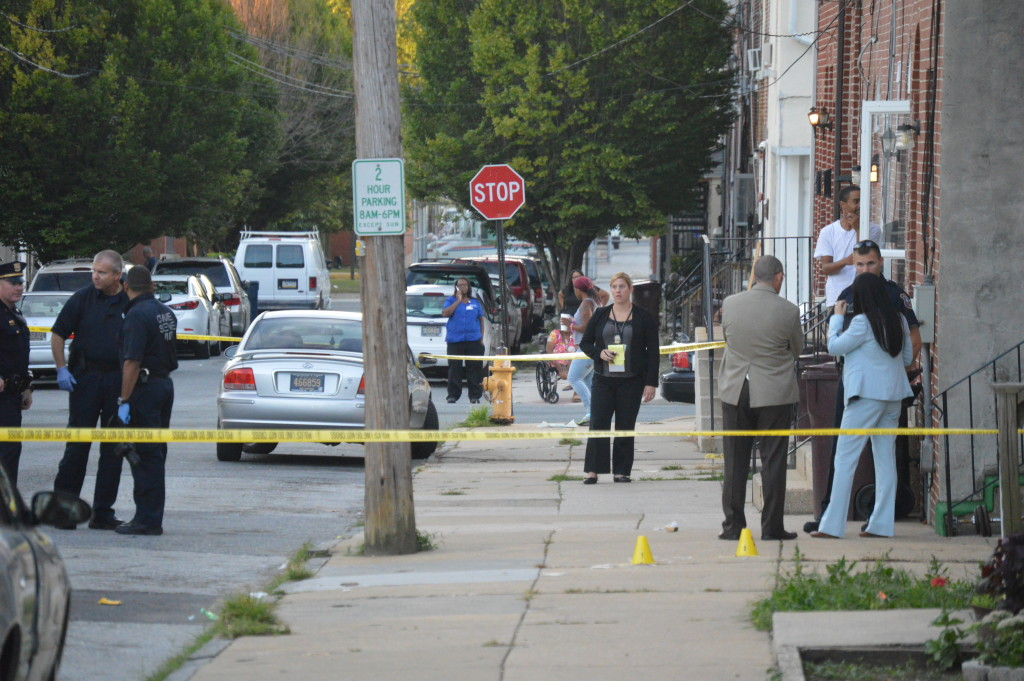 Shooting scene on Delamore Place (Photo: Delaware Free News)