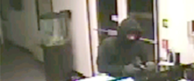 Surveillance image from Super 8 Motel released by Harrington police.