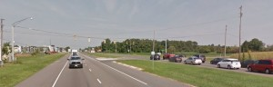 The Route 1 traffic light at Thompsonville Road will be removed Sept. 14. (Photo: Google maps)