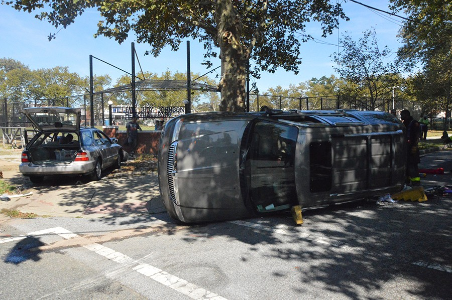 Clayton Street crash